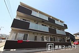 愛知県豊田市浄水町南平丁目の賃貸アパートの外観