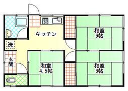 [一戸建] 静岡県富士市岩淵 の賃貸【静岡県 / 富士市】の間取り