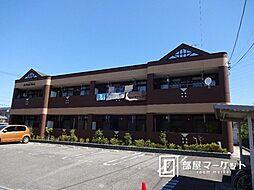 愛知県岡崎市井内町の賃貸アパートの外観