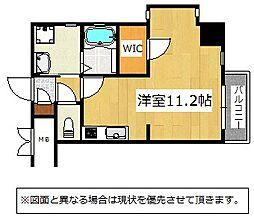 Studie KOKURA(スタディ小倉)[3階]の間取り