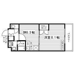 宗像壱番館[2階]の間取り