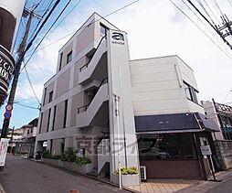 京都府京都市右京区常盤馬塚町の賃貸マンションの外観