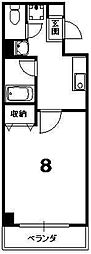 シェモア小川[2階]の間取り
