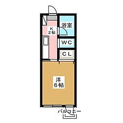 HILL TOP[2階]の間取り