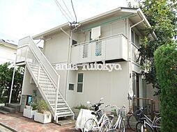 東京都武蔵野市御殿山2丁目の賃貸アパートの外観