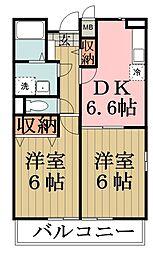 プラシード・カーサ[1階]の間取り