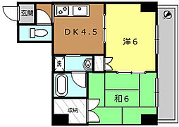 新開ビル[1階]の間取り