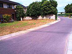 前面道路は南東側、南西側とも幅員約5m以上ございます。