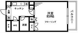 ソナーレ立川II[102号室]の間取り