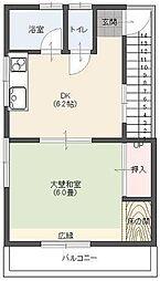 諏訪荘[301号室]の間取り