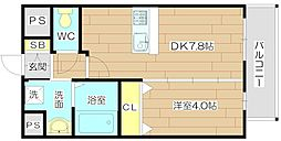 サンウッドコートIII[3階]の間取り