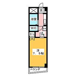 グリーンガーデン小林2[2階]の間取り