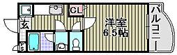 ロンシャン[403号室]の間取り