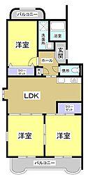 クレール21III[2階]の間取り