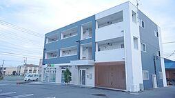 埼玉県熊谷市広瀬の賃貸マンションの外観