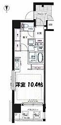 レジェンドール心斎橋EAST[5階]の間取り