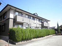 愛知県尾張旭市北山町北新田の賃貸アパートの外観