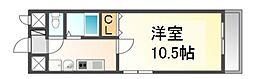 愛知県名古屋市中村区畑江通7の賃貸マンションの間取り