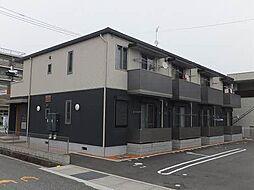 広島県福山市南手城町1の賃貸アパートの外観