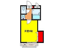 パストラルマンションM[108号室号室]の間取り