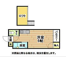 ソフィ21緑ヶ丘[2階]の間取り