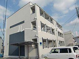 flat福井B棟[1階]の外観