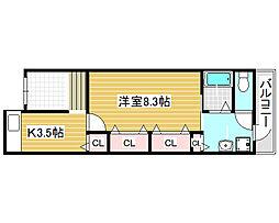 [一戸建] 大阪府堺市堺区田出井町 の賃貸【/】の間取り