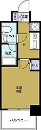 エスライズ大阪ドームレジデンス[2階]の間取り