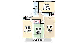 シェーンハイム B棟[1階]の間取り