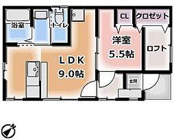 [一戸建] 栃木県日光市今市 の賃貸【/】の間取り
