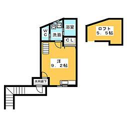 そよ風の家[2階]の間取り