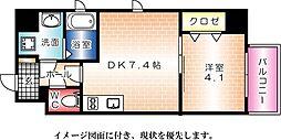 KATAYAMA BLDG  24--[401号室]の間取り