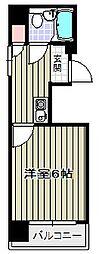 第2アヴィタシオンARAGANE[7階]の間取り