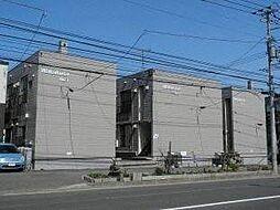 北海道札幌市白石区東札幌一条3の賃貸アパートの外観