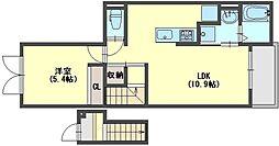 グラン シャリオ2[2階]の間取り