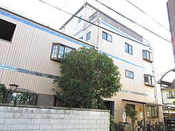 大阪府大東市津の辺町の賃貸マンションの外観