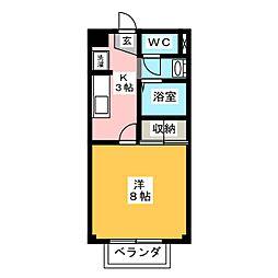 MYルームIII[1階]の間取り