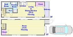 [一戸建] 兵庫県神戸市垂水区青山台2丁目 の賃貸【/】の間取り