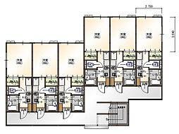 ビットカーサ島大西[206号室]の外観