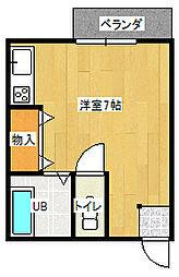 メゾンM[B-11号室]の間取り