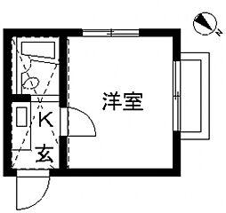 マーサハイムPART IIA[2階]の間取り