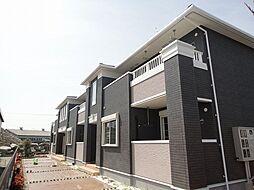 滋賀県東近江市寺町の賃貸アパートの外観