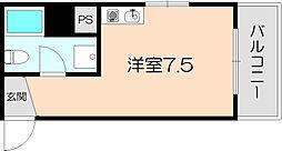OAZO庄内西町[603号室]の間取り