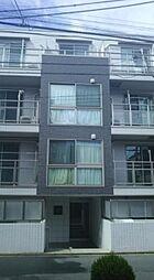 東京都新宿区弁天町の賃貸マンションの外観