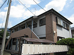 東京都世田谷区喜多見4丁目の賃貸アパートの外観