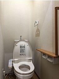 手摺付きの1階トイレ