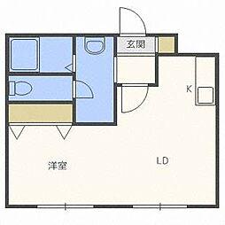 モスト豊平8・9[4階]の間取り