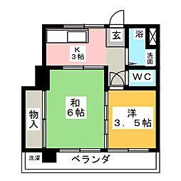 近藤一芳ビル[4階]の間取り