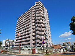 栃木県宇都宮市本丸町の賃貸マンションの外観