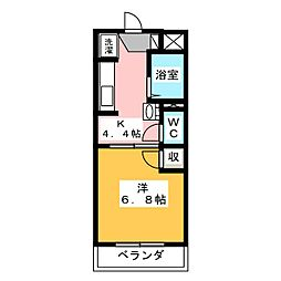 クレール・アン[2階]の間取り